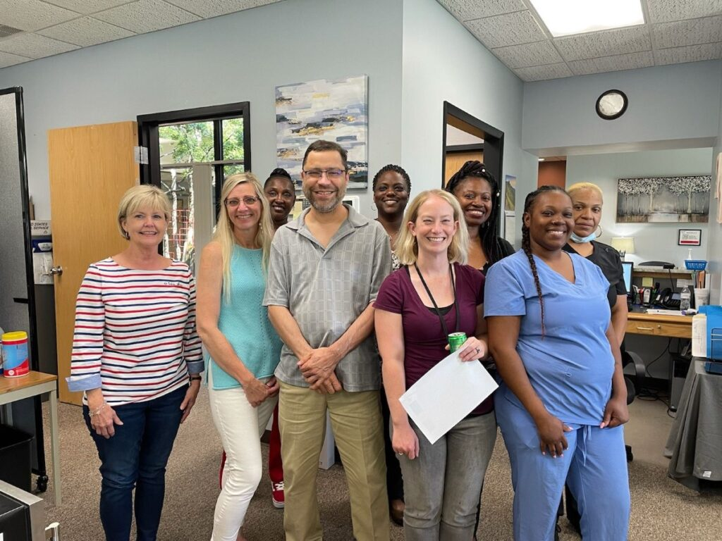 Primary Care Physician Greenville NC Group Photo Version 1 My Viva Med